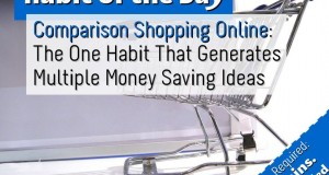 Comparison Shopping Online: The One Habit That Generates Multiple Money Saving Ideas