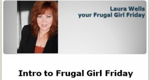 Intro to Frugal Girl Friday