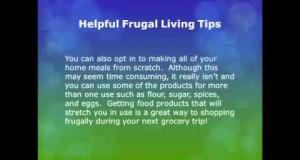 living frugal tips
