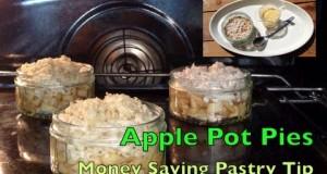 Money Saving Tip Using Pastry Apple Pot Pie cheekyricho